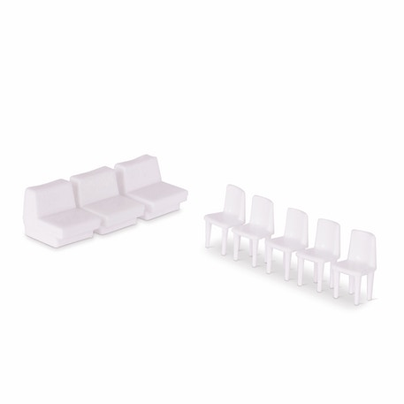 Schulcz Chair Scale Models 1:50 Pack of 10 | Cass Art