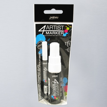 Pebeo 4Artist Marker 2mm and 8mm Set of 2 | Cass Art