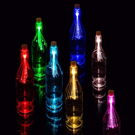 Suck UK Fibre Optic Bottle Light | Cass Art