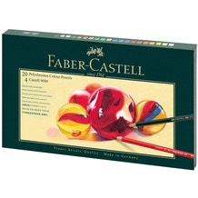 Faber-Castell Polychromos Gift Set & Accessories Set of 24