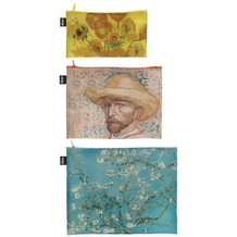 LOQI Museum Collection Vincent Van Gogh Zip Pockets