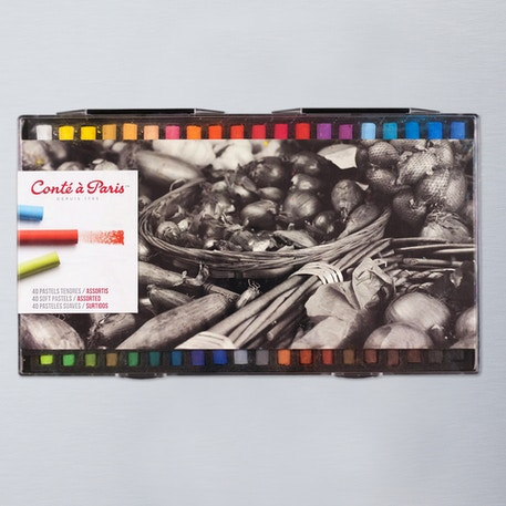 Conte a Paris Soft Pastel Pack of 50 | Cass Art