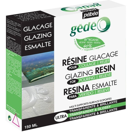 Pebeo Gedeo Bio-Based Glazing Resin | Cass Art