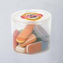 Koh-i-noor Tub of Natural Pebble Erasers