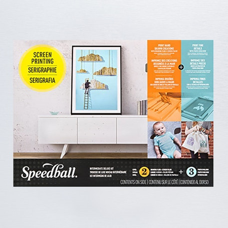Speedball Intermediate Deluxe Screen Printing Kit | Cass Art