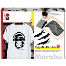 Marabu Textil Screen Printing Set