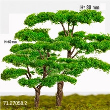 Schulcz Trees Mid-Green 60mm/80mm Pack of 2