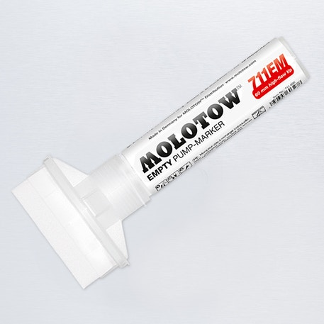 Molotow Masterpiece 711EM Empty Paint Marker Chisel Nib 60mm | Cass Art