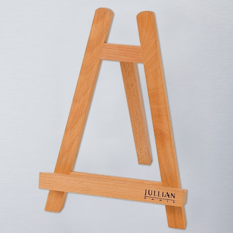 Jullian Oiled Beechwood Table Easel with Fixed Canvas Holder | Cass Art