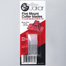 Jakar Spare Blades with Blister Card Pack of 5
