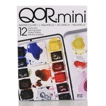 QoR Watercolour Mini Half Pans Set of 12