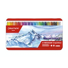 Caran D'ache Neocolor II Wax Pastels Assorted Colours Set of 84
