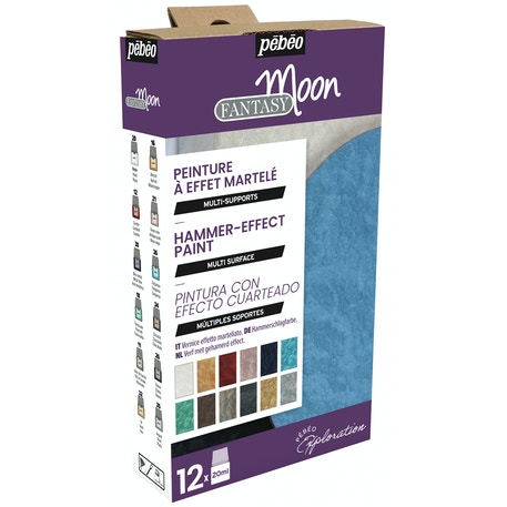 Pebeo Explorer Set Fantasy Moon 20ml Assorted Colours Set of 12