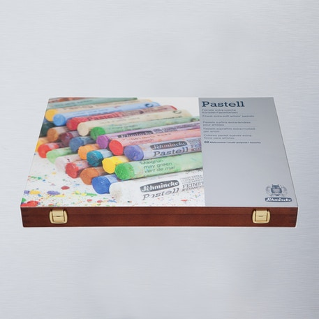Schmincke Pastell Malkästen Pastels Wooden Box Set of 60 | Cass Art