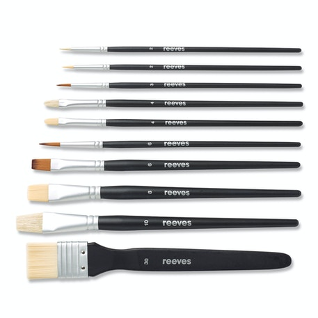 Reeves Mixed Media Brushes Set of 10 | Cass Art
