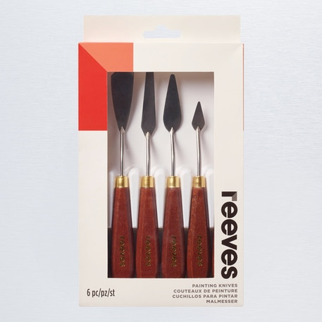 Reeves Metal Painting Knives Set of 6 | Cass Art