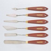 Reeves Metal Painting Knives Set of 6