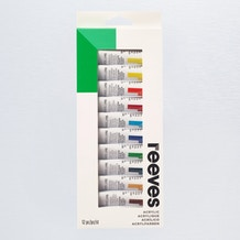 Reeves Acrylic Paint 10ml Set of 12
