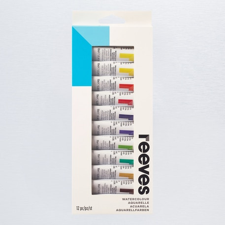 Reeves Watercolour 10ml Set of 12 | Cass Art
