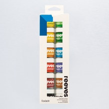 Reeves Poster Paint Pot Assorted Colours Set of 12