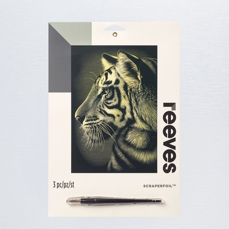 Reeves Scraperfoil Medium | Cass Art
