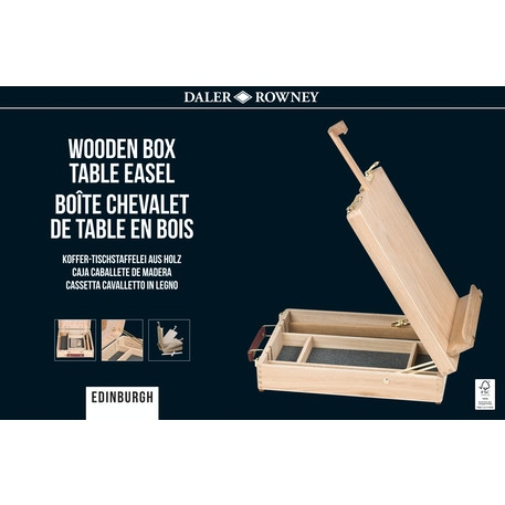 Daler Rowney Edinburgh Table Easel | Cass Art