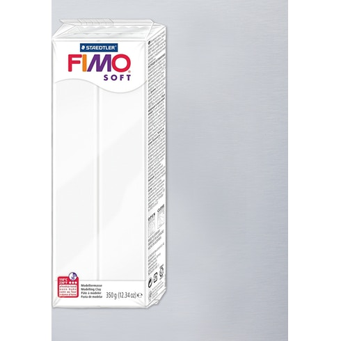 Staedtler Fimo Soft Modelling Clay Large Block 350g | Modelling Clay | Cass Art