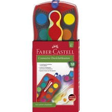 Faber-Castell Connector Watercolour Paint Box Set of 12