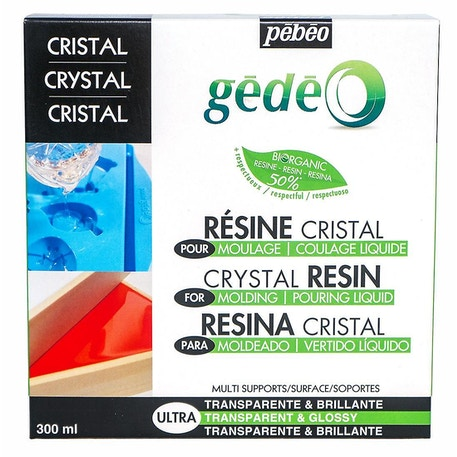 Pebeo Gedeo Bio-Based Crystal Resin | Cass Art