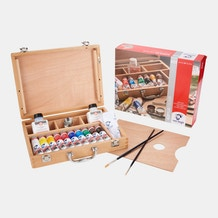 Van Gogh Acrylic Basic Box Assorted Colours Set