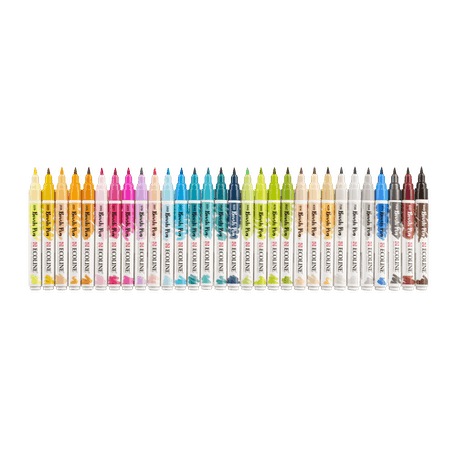 Ecoline Watercolour Brush Pen Additional Assorted Colours Set of 30 | Cass Art