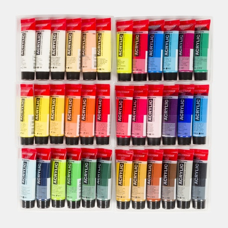 Amsterdam Standard Series Acrylic Paints Set of 36 x 20ml | Cass Art