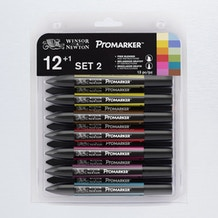 Winsor & Newton ProMarker Set 2 Set of 12