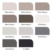 Winsor & Newton Brush Marker Greys Set of 12