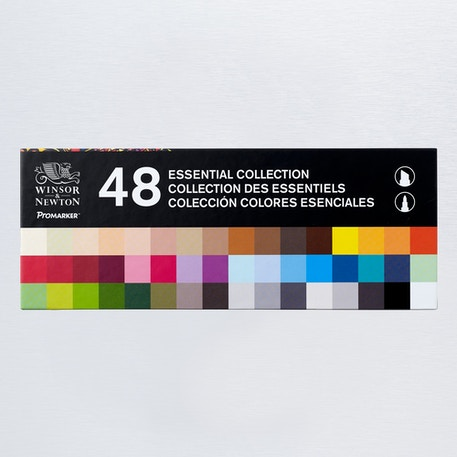 Winsor & Newton Promarker Set of 48 | Cass Art