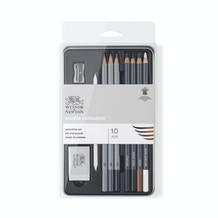 Winsor & Newton Studio Collection Graphite Pencil Set of 10