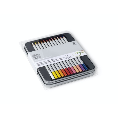 Winsor & Newton Studio Collection Coloured Pencils Set of 24 | Cass Art