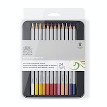 Winsor & Newton Studio Collection Coloured Pencils Set of 24