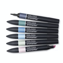 Winsor & Newton ProMarker Skyscape Tones 1 Set of 6