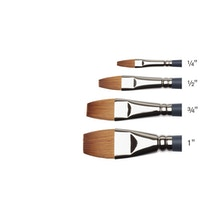 Winsor & Newton Professional Watercolour Synthetic Sable One Stroke Brushes