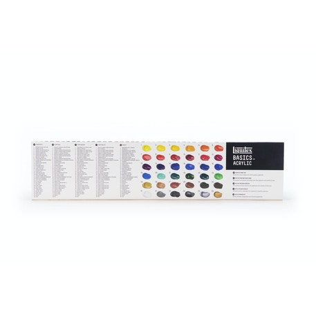 Liquitex Basics Acrylic Paint Set of 36 22ml | Cass Art