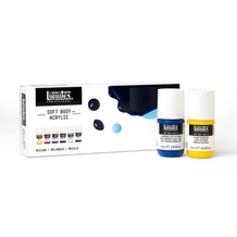 Liquitex Professional Soft Body Acrylic Mixing Set of 6 x 22ml
