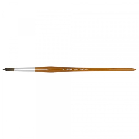 Isabey Isacryl Pointed Round Series 6512 Brush | Cass Art
