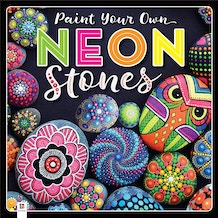Hinkler Paint Your Own Neon Stones Kit