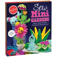 Sew Mini Garden by Klutz