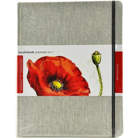 hand.book Natural Linen Watercolour Journal | Cass Art