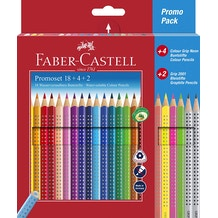 Faber-Castell Colour Grip Promotion Pencil Set of 24