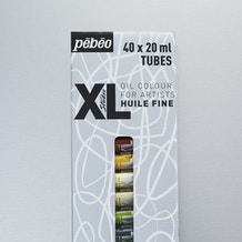 Pebeo XL Oil 20ml Assorted Colours Pack of 40