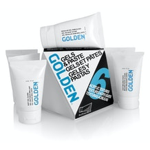 Golden Gel and Moulding Paste 60ml Set of 6