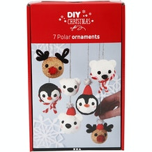 Creativ DIY Christmas Polar Ornaments Set